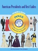 American Presidents & First Ladies (Dover Electronic Clip Art)