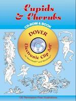 Cupids & Cherubs [With CDROM for Macintosh and Windows] (Dover Electronic Clip Art)