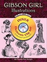 Gibson Girl Illustrations [With CDROM] af Charles Dana Gibson
