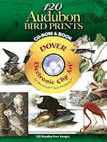 120 Audubon Bird Prints [With CDROM] (Dover Electronic Clip Art)