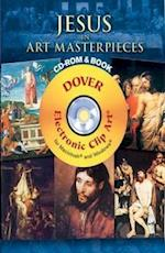 120 Great Paintings of the Life of Jesus [With DVD] (Dover Platinum Electronic Clip Art)
