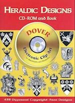 Heraldic Designs CD-ROM and Book [With Clip Art] (Dover Electronic Clip Art)