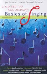 2 CD Set for Schmidt/Counsell Schmidt's Basics of Singing, 6th