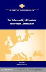Enforceability of Promises in European Contract Law (Cambridge Studies in International And Comparative Law)