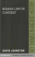 Roman Law in Context (Key Themes in Ancient History)