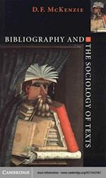 Bibliography and the Sociology of Texts af MCKENZIE