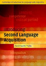Introducing Second Language Acquisition af Muriel Saville-troike