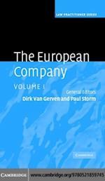 European Company: Volume 1 (Law Practitioner Series)