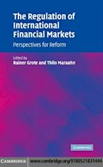 Regulation of International Financial Markets