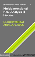 Multidimensional Real Analysis II (CAMBRIDGE STUDIES IN ADVANCED MATHEMATICS)