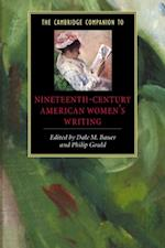 Cambridge Companion to Nineteenth-Century American Women's Writing af Bauer