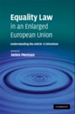 Equality Law in an Enlarged European Union