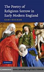 Poetry of Religious Sorrow in Early Modern England