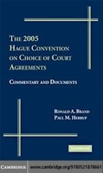 2005 Hague Convention on Choice of Court Agreements