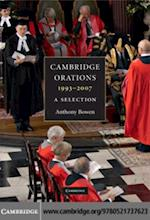Cambridge Orations, 1993-2007
