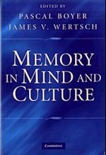 Memory in Mind and Culture af Boyer