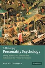 History of Personality Psychology af . Dumont