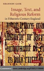 Image, Text, and Religious Reform in Fifteenth-Century England (Cambridge Studies in Medieval Literature)