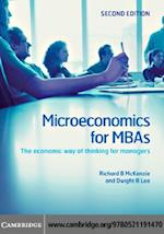 Microeconomics for MBAs af MCKENZIE