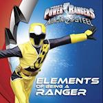 Elements of Being a Ranger (Power Rangers Paperback)