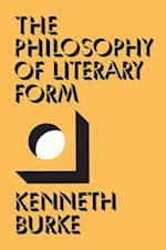 The Philosophy of Literary Form af Kenneth Burke