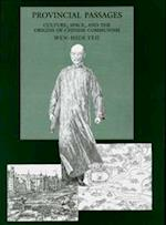 Provincial Passages af Wen-Hsin Yeh