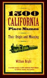 1500 California Place Names af William Bright, Erwin Gustav Gudde