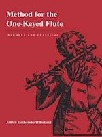 Method for the One-Keyed Flute af Janice Dockendorff Boland