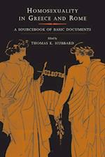 Homosexuality in Greece and Rome (A Joan Palevsky Book in Classical Literature)