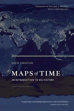 Bog, paperback Maps of Time af David Christian, William H McNeill