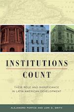 Institutions Count af Alejandro Portes