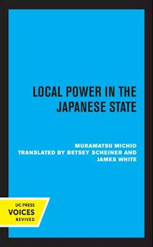 Local Power in the Japanese State