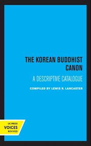 The Korean Buddhist Canon