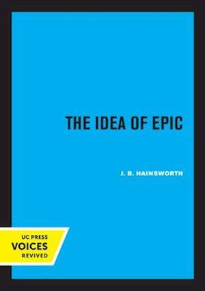 The Idea of Epic