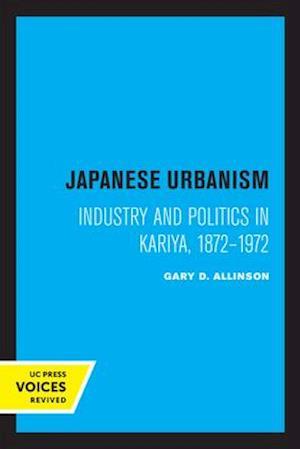 Japanese Urbanism