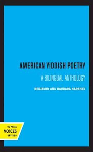 American Yiddish Poetry