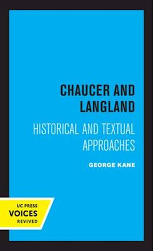 Chaucer and Langland