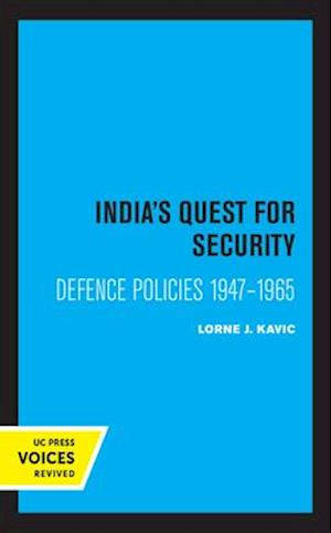 India's Quest for Security
