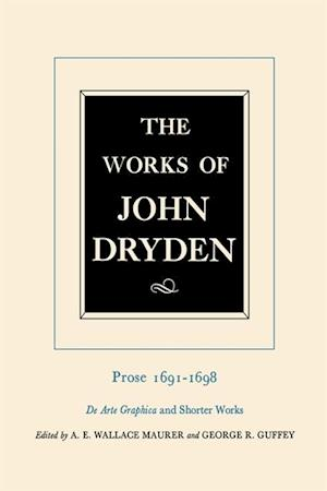 Works of John Dryden, Volume XX
