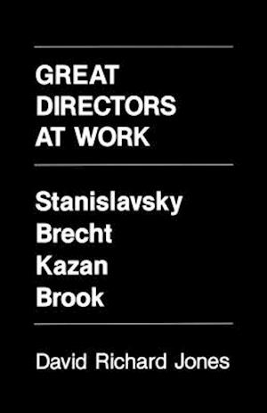 Great Directors at Work af David Richard Jones