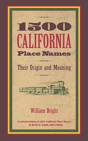 1500 California Place Names af William Bright
