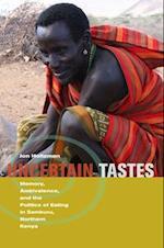 Uncertain Tastes af Jon Holtzman