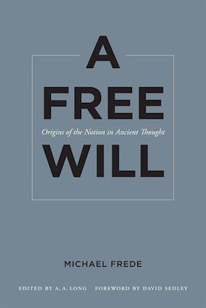 Free Will af Michael Frede