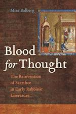 Blood for Thought af DR. S Mira Balberg