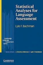 Statistical Analyses for Language Assessment (Cambridge Language Assessment)