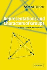 Representations and Characters of Groups af Martin Liebeck, Gordon James