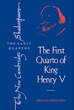 The First Quarto of King Henry V af William Shakespeare