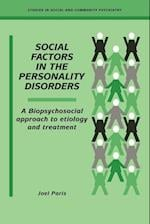 Social Factors in the Personality Disorders (Studies in Social and Community Psychiatry)
