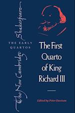 The First Quarto of King Richard III af William Shakespeare