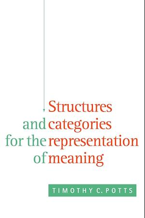 Structures and Categories for the Representation of Meaning